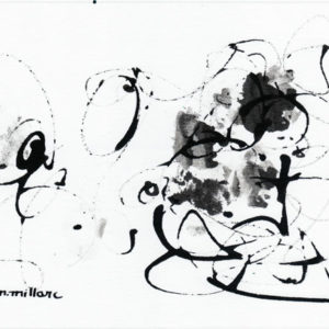 Thumbnail: Millarc INK 54 Ink on watercolor paper 5X7 $230