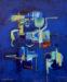 Thumbnail: Millarc EVENING RENDEZVOUS Acrylic on canvas 20X24 $800