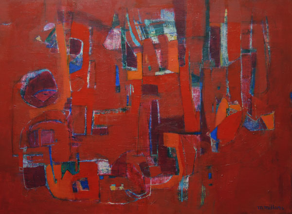 TRACES Acrylic on canvas 48X36 3,000