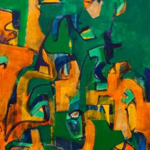 Thumbnail: Millarc EMERALD 24X30 acrylic on canvas 1,800
