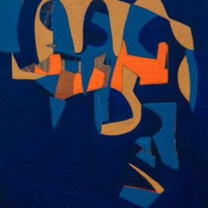 Thumbnail: Millarc IN THE LOOP acrylic on canvas 16X20 650