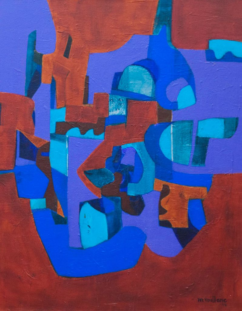 Millarc RUMBA acrylic on canvas 24X30 1,800