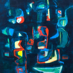 Thumbnail: Millarc SAMBA acrylic on canvas 16X20 650