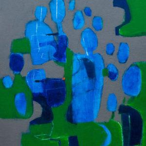 Thumbnail: Millarc MARCH FOR PEACE Acrylic on canvas 16X20 (framed) $750