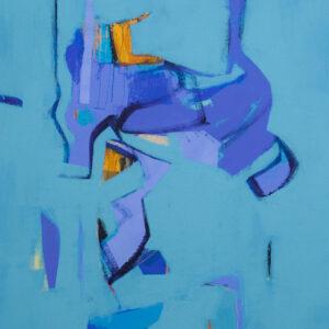 Thumbnail: Millarc GLIMPSES Acrylic on canvas 20X24 $850