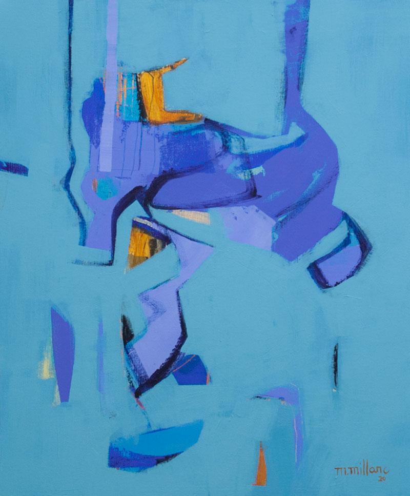 Millarc GLIMPSES Acrylic on canvas 20X24 $850