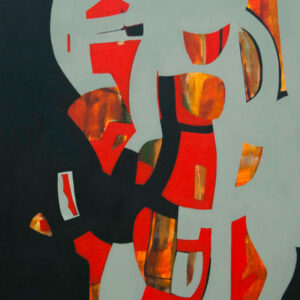 Thumbnail: Millarc CRIMSON acrylic on canvas 20X24 850