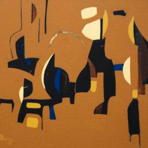 Thumbnail: Millarc JOURNEY mixed media on canvas 20X16 750