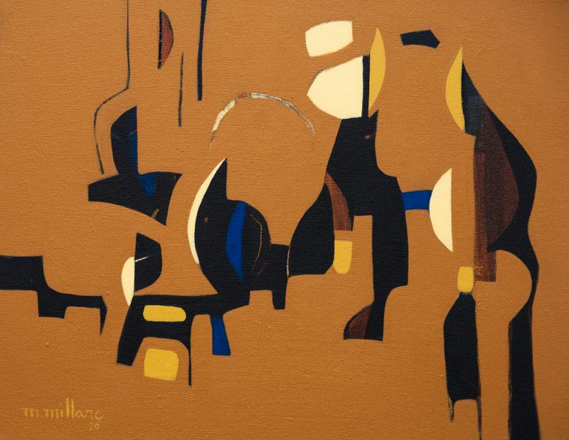 Millarc JOURNEY mixed media on canvas 20X16 750