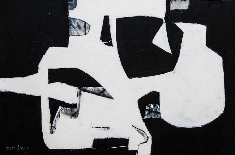 Millarc DILEMMA oil on panel 24X36 $700