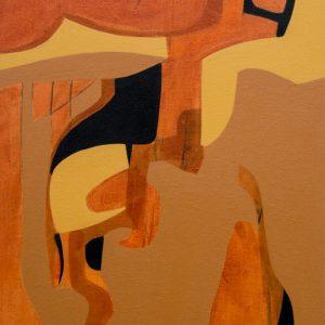 Thumbnail: Millarc SHADES OF FALL acrylic on canvas 16X20 750