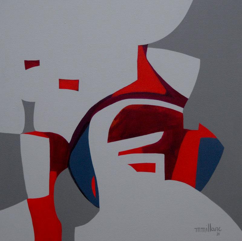 Millarc TRAVERSE acrylic on canvas 24X24 850